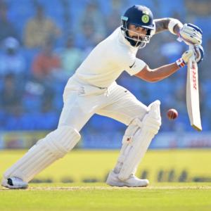 Pujara commends captain Kohli's batting prowess on 'difficult pitch'