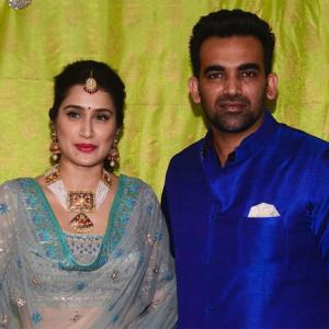 PHOTOS: Zaheer Khan and Sagarika Ghatge's mehendi ceremony