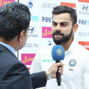 Kohli bats for aggressive approach in SA tour