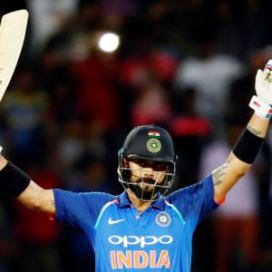 PIX, 5th ODI: Kohli, Bhuvneshwar star in win as India sweep series 5-0