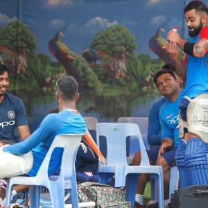 Inclement weather forces Team India to cancel practice