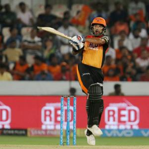 IPL PHOTOS: Clinical Hyderabad humble Royals by 9 wickets