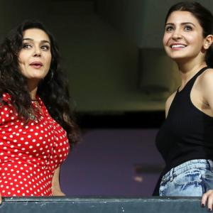 PHOTOS: Preity, Anushka up the glam quotient at IPL