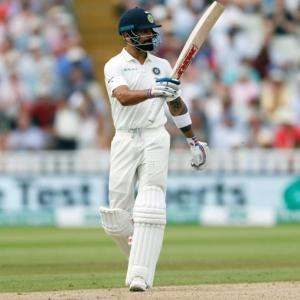 Will Kohli's knock spur his teammates?
