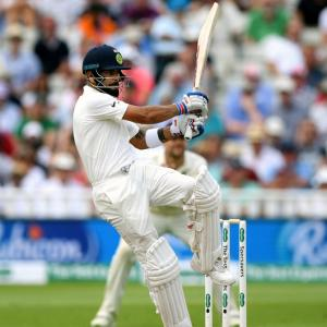 'It was eye-opening to watch Kohli bat'