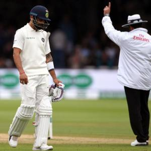 I am not very proud of the way we played, says angry Kohli after Lord's low
