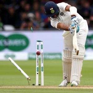 IN PIX: India's tame surrender at Lord's