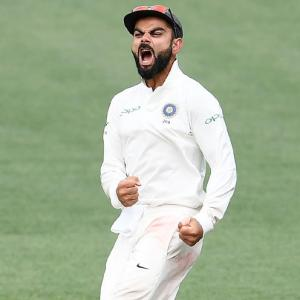 India captain Kohli booed by Australian fans in Adelaide