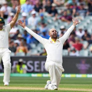 Australia's GOAT Nathan Lyon walks the talk and how!