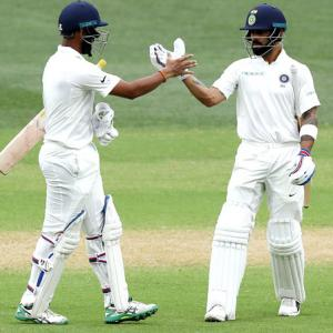 Pujara and Kohli the difference between two sides: Langer
