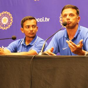 WATCH: Dravid on the importance of playing Pakistan at U-19 level