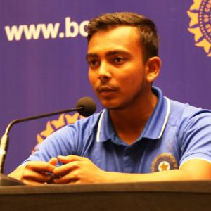 Here's Rahane's advice for young Shaw