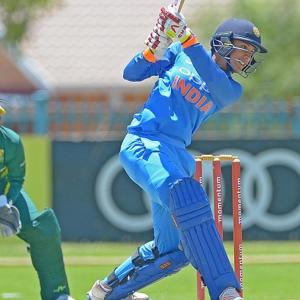 Mandhana stars again as India women wallop SA to seal series