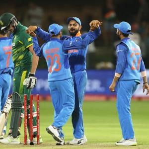 Kohli acknowledges 'collective effort' of his history makers