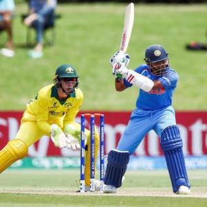 PHOTOS U-19 World Cup: India rout Australia by 100 runs