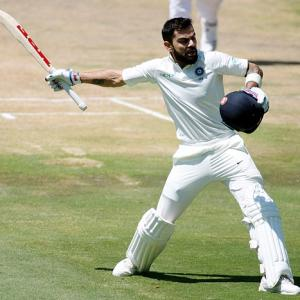 PHOTOS: Kohli shines, but South Africa on top