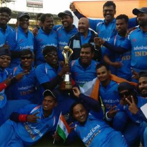 India beat Pakistan to retain Blind World Cup title