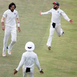 3rd Test: Bowlers make late charge to script thrilling win
