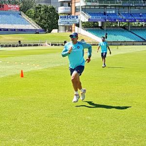 WATCH! India, South Africa sweat it out ahead of first ODI in Durban