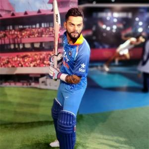 First Look: Kohli's wax statue unveiled!