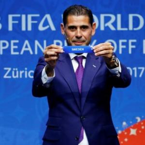 Fernando Hierro is Spain's new coach for World Cup
