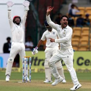 PHOTOS: India vs Afghanistan, One-off Test, Day 1
