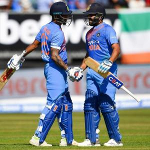 PHOTOS: Openers, spinners steer India to big win in first Ireland T20