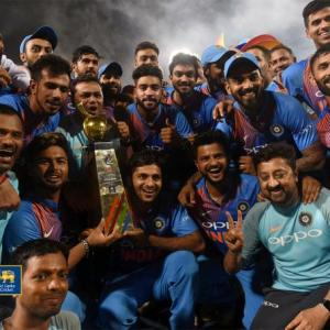 PHOTOS: Karthik does a Dhoni, propels India to T20 title