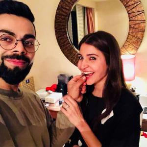 How Kohli celebrated wife Anushka's birthday...
