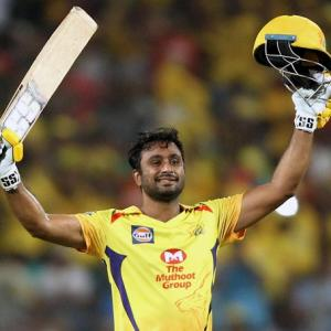 PHOTOS: Rayudu hits maiden IPL ton as Super Kings beat Sunrisers