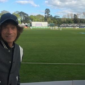 SPOTTED! Mick Jagger at Ireland's first Test