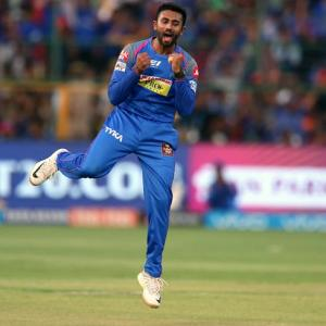 PHOTOS: Gopal spins Royals to victory, sends RCB out of play-offs