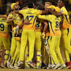 CSK cap fairytale run with third IPL title