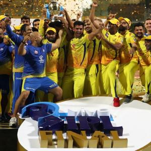 Congratulate IPL champions Chennai Super Kings
