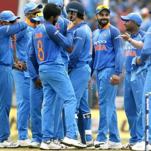 PHOTOS: Dominant India crush Windies to win ODI series 3-1