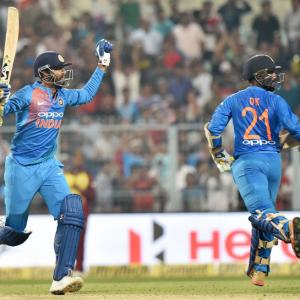 Captain Rohit on India's struggle in victory chase