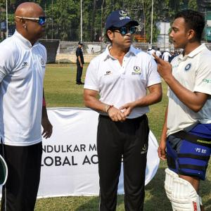 Check out Tendulkar and Kambli's advice for young Shaw on Aus tour