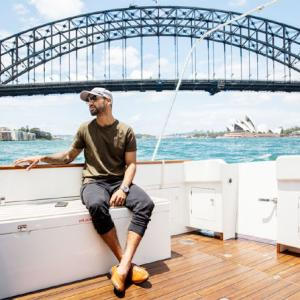 PHOTOS: How Dhawan spends his day off in Sydney