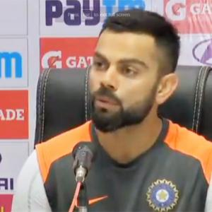 Here's why Kohli prefers Dukes ball over India-made SG ball