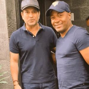 What are Sachin and Lara doing in Mumbai?