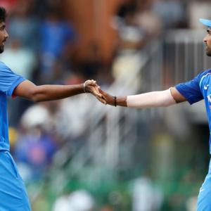 Bumrah, Bhuvneshwar picked for last 3 ODIs vs Windies; Shami rested