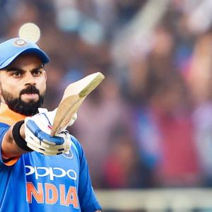 'Grateful' Kohli not taking his place in team for granted
