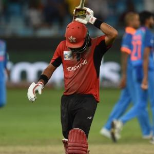 Asia Cup PIX: Unimpressive India beat spirited Hong Kong by 26 runs