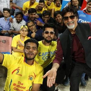 What are Big B and Spidey doing at the IPL?