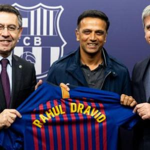 Messi is an absolute genius: Dravid