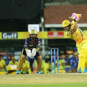 PICS: CSK demolish KKR, maintain unbeaten home run