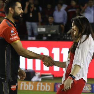 PIX: Preity catches up with 'awesome' Kohli