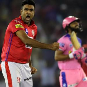 IPL PHOTOS: All-round Ashwin lifts Kings XI to victory