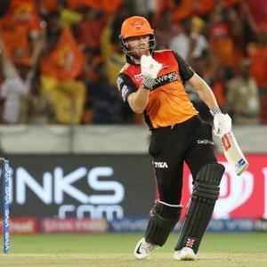 PICS: Warner, Bairstow steer Hyderabad past Chennai
