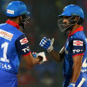 PHOTOS: Iyer, Dhawan lift Delhi Capitals to victory